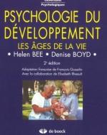 Psychologie du développement – les âges de la vie