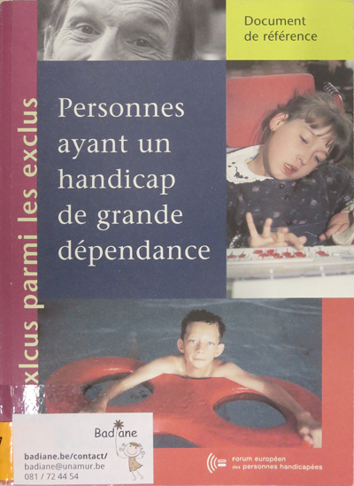 Personnes ayant un handicap de grande dépendance